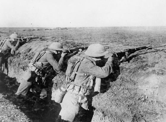 U.S. marines fought (and died) right up the final moments of the First World War. Historian and author James Carl Nelson explores these last violent moments of World War One. (Image source: WikiCommons)