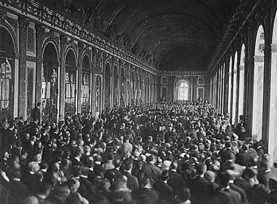 The post Versailles world saw the great powers scramble for influence in the Middle East. (Image source: WikiCommons)