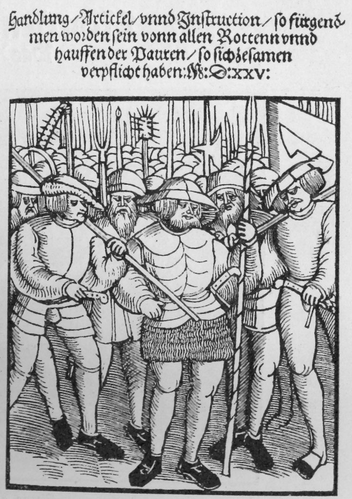 "martin luther and the peasant revolt essays Peasants' revolts in the german states on the other hand, martin luther condemned the peasants ""peasant violence: rebellion and riot in early modern."