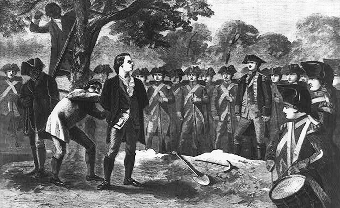Nathan Hale & Moses Dunbar – Two Very Different Victims From Revolutionary America