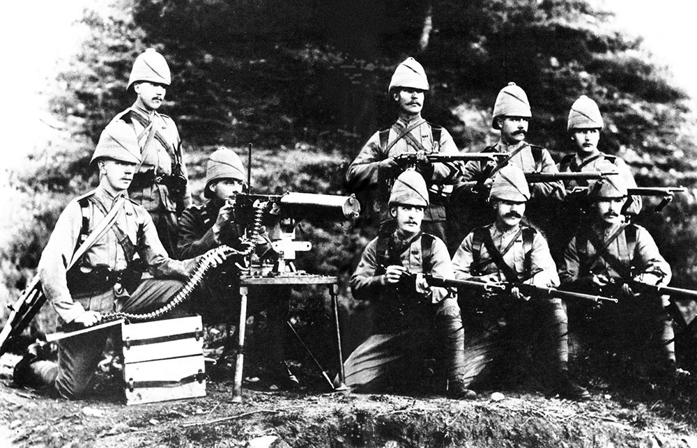 Machine Gun - How Hiram Maxim's Deadly Invention Changed History - MilitaryHistoryNow.com