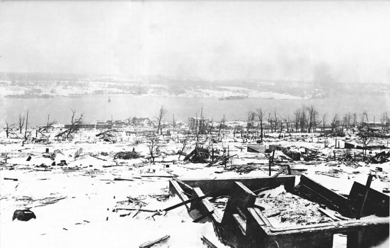 The Halifax Explosion — Marking The 100th Anniversary Of One Of WW1's Deadliest Disasters