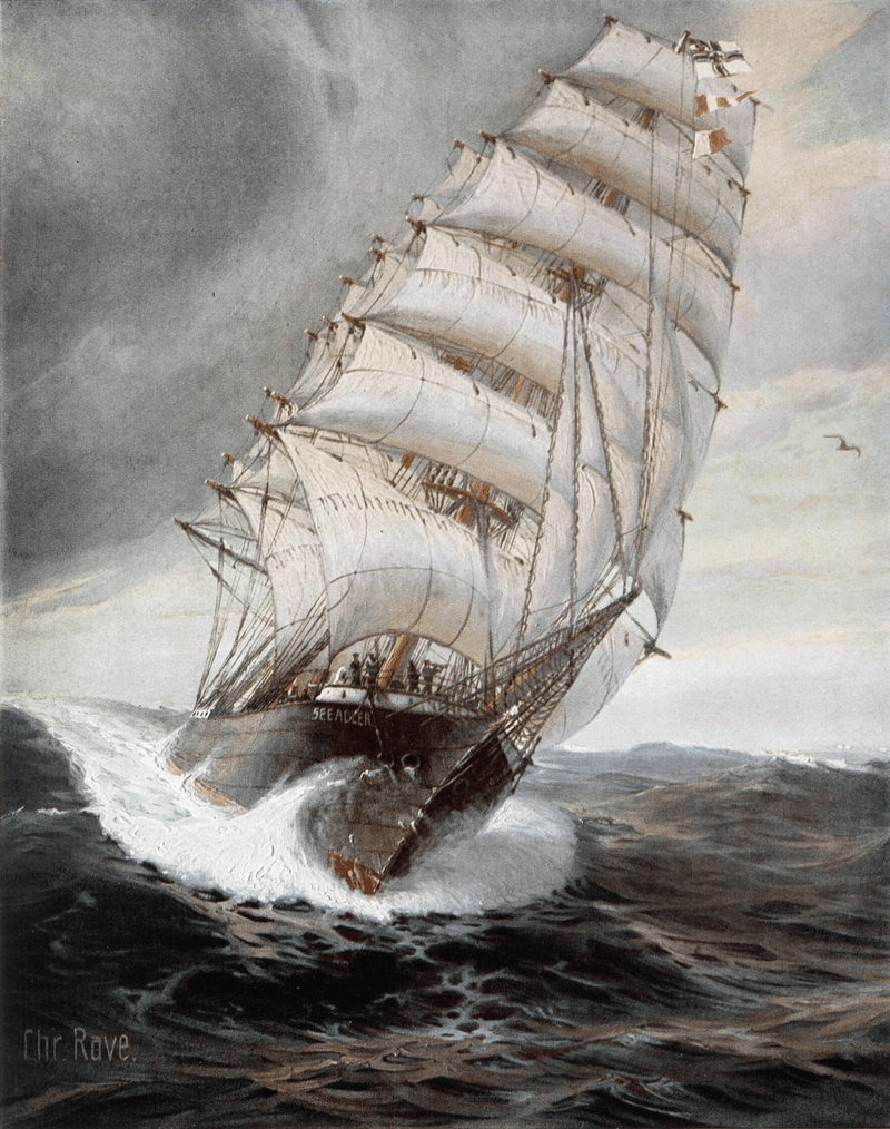 The Last Sailing Warship – Inside the Amazing Voyage of the Kaiser's Commerce Raider 'Seeadler'