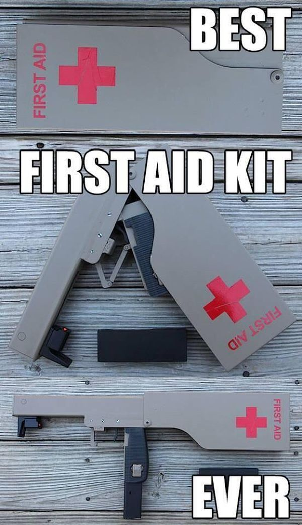 Best First Aid Kit Ever Military Humor