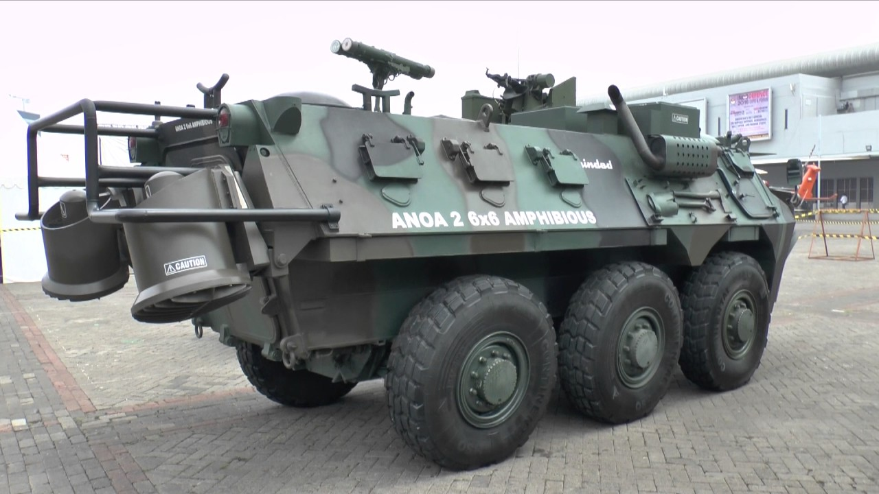 Anoa 2 6x6 Amphibious Vehicle