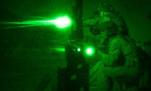 Marines Use Night Vision to Engage Targets in Darkness: 1st Recon Night Shoot