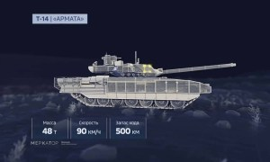 Russia's Latest Tank T-14 Armatas Abilities Shown in Amazing Animation