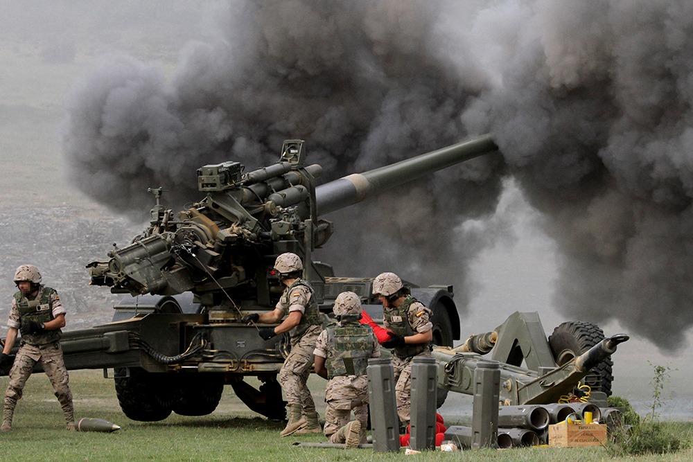 GDELS SIAC 155/52 Caliber Towed Howitzer