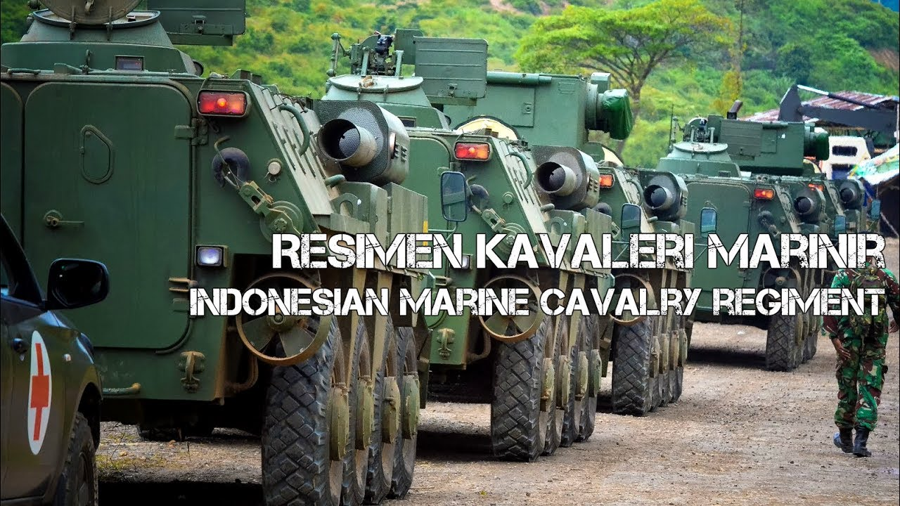 Indonesian Marine Corps Cavalry Regiment
