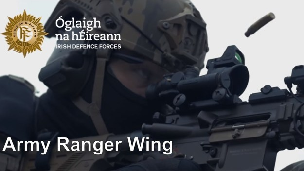 Irish Defence Forces Army Ranger Wing