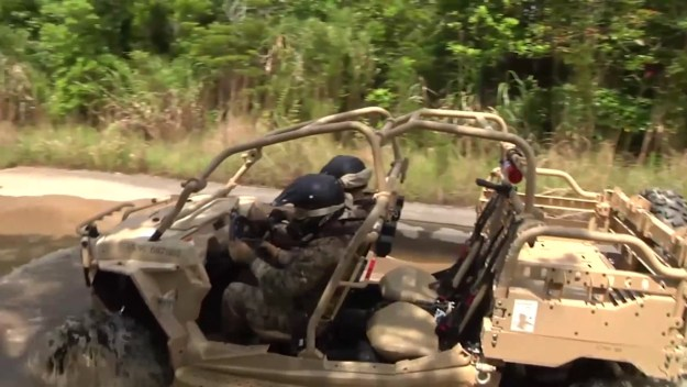 USMC Utility Task Vehicle (UTV)