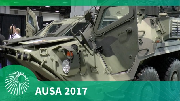AUSA 2017: BTR 4E Armoured Personnel Carrier