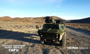 Canadian Army Tactical Armoured Patrol Vehicles (TAPV)