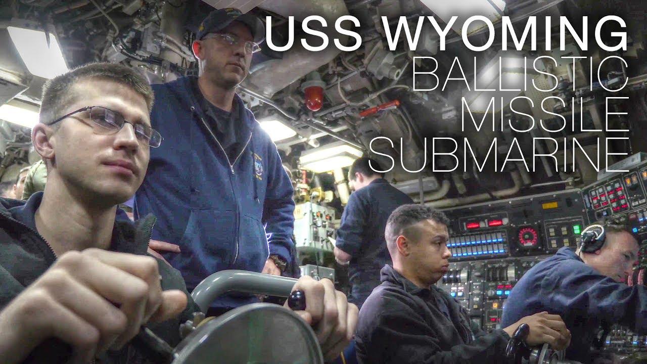 USS Wyoming (SSBN-742) Ballistic Missile submarine