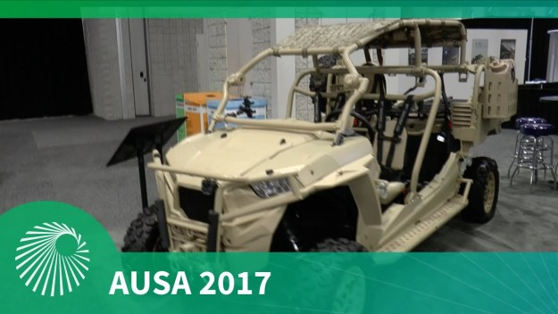 AUSA 2017: MRZR and DAGOR updates - Polaris Defense