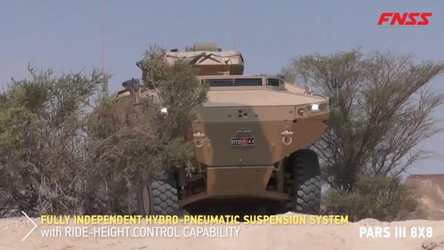PARS III 8X8 Wheeled Armored Combat Vehicle (WACW)