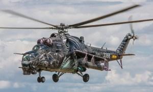 The Alien Tiger - Mi-35 of Czech Air Force