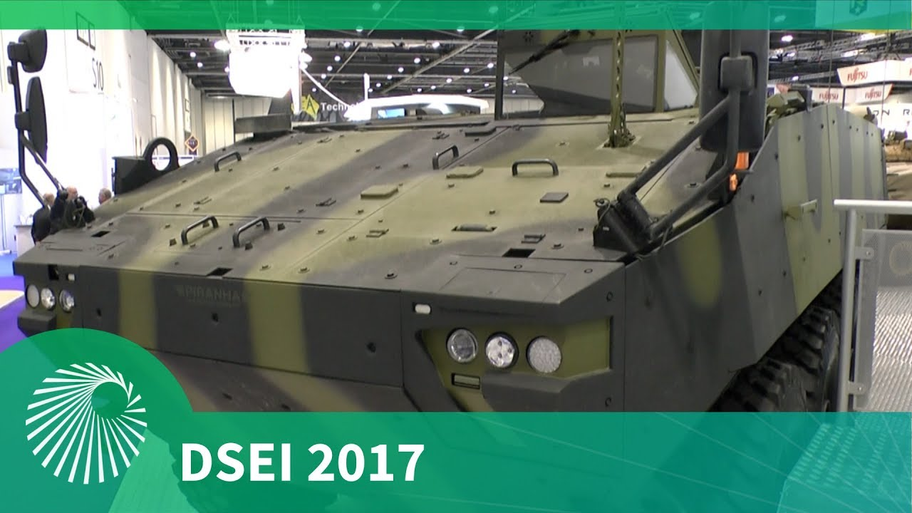 DSEI 2017: Piranah 5 8x8 - General Dynamics