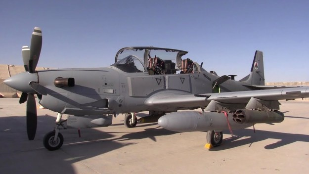 A-29 Super Tucano Preflight