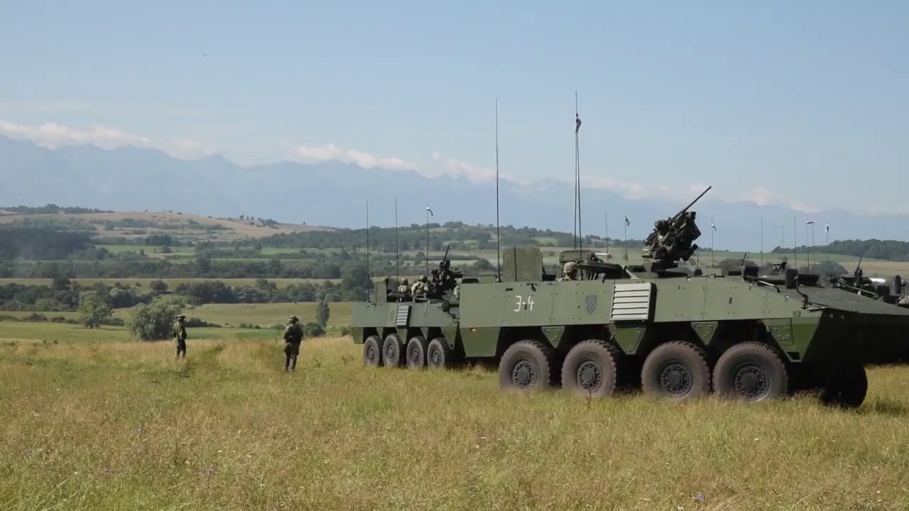 Croatian Patria AMV (Armored Modular Vehicle)