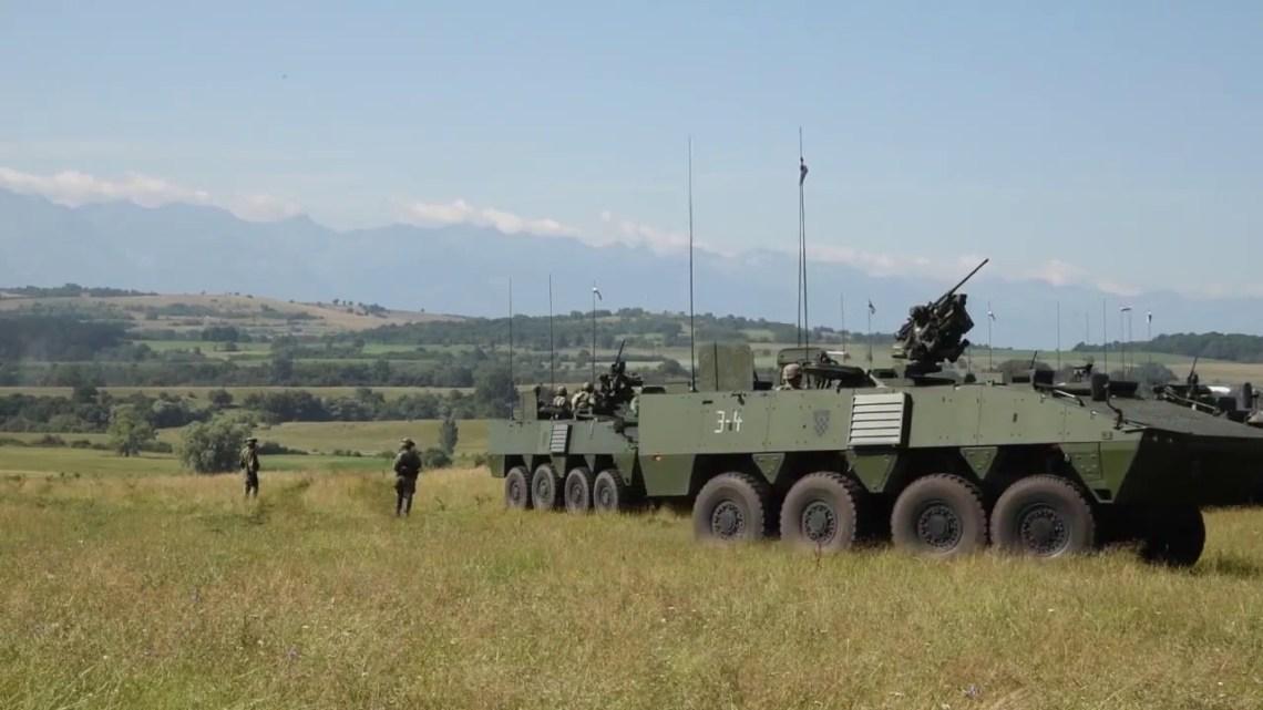 Croatian Patria AMV (Armored Modular Vehicle) 8×8 multi-role military vehicle
