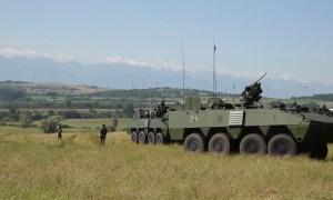 Croatian Patria AMV (Armored Modular Vehicle)