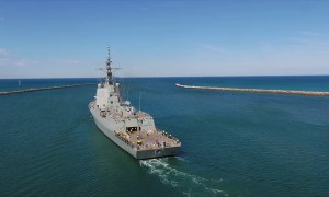 HMAS Brisbane (DDG 41) Air Warfare Destroyer