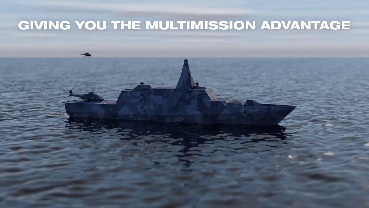 The Next Generation Corvette - Giving you the multimission advantage