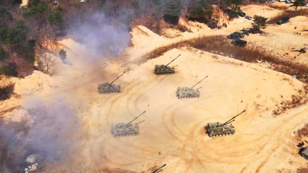 Republic of Korea Army Artillery