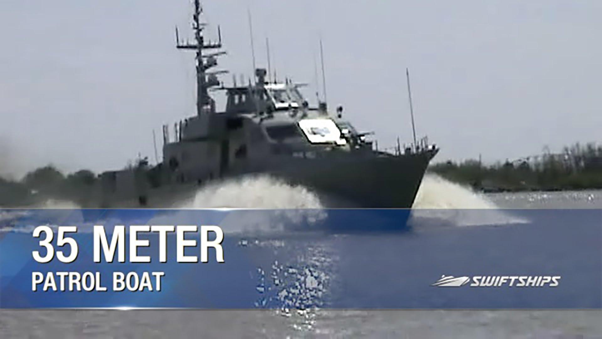 Swiftships 35 Meter Patrol Boat