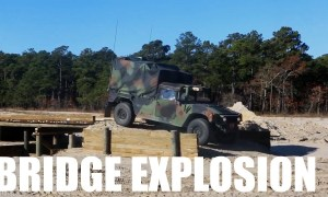 2nd Combat Engineer Battalion Bridge Explosion