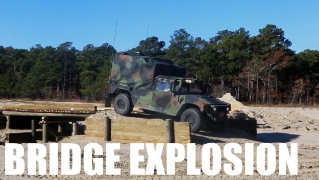 2nd Combat Engineer Battalion Bridge Explosion