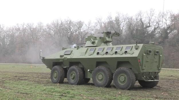 Lazar 2 8×8 Multi-Role Armoured Vehicle