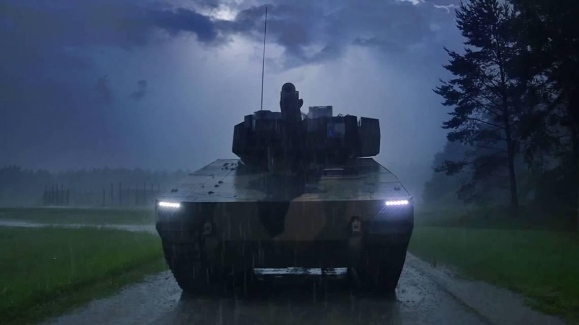 Raytheon Technologies and American Rheinmetall Vehicles Lynx KF41 infantry fighting vehicle