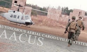 Marines Tests It's New Autonomous Helicopter