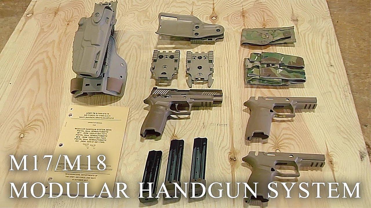 Meet The US Army's New Pistols: M17/M18 Modular Handgun System