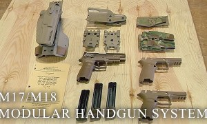Meet The US Army's New Pistols: M17/M18 Modular Handgun System