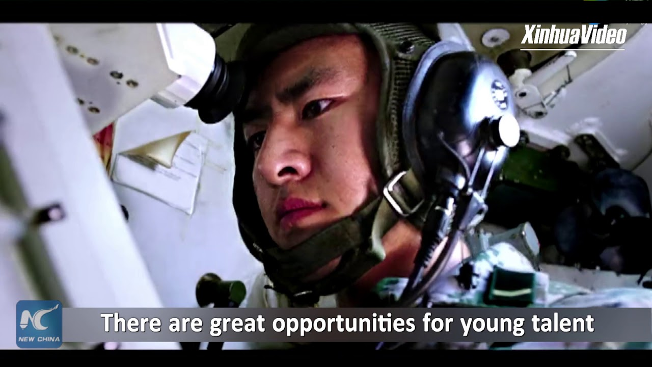 China's military releases 2018 recruitment video