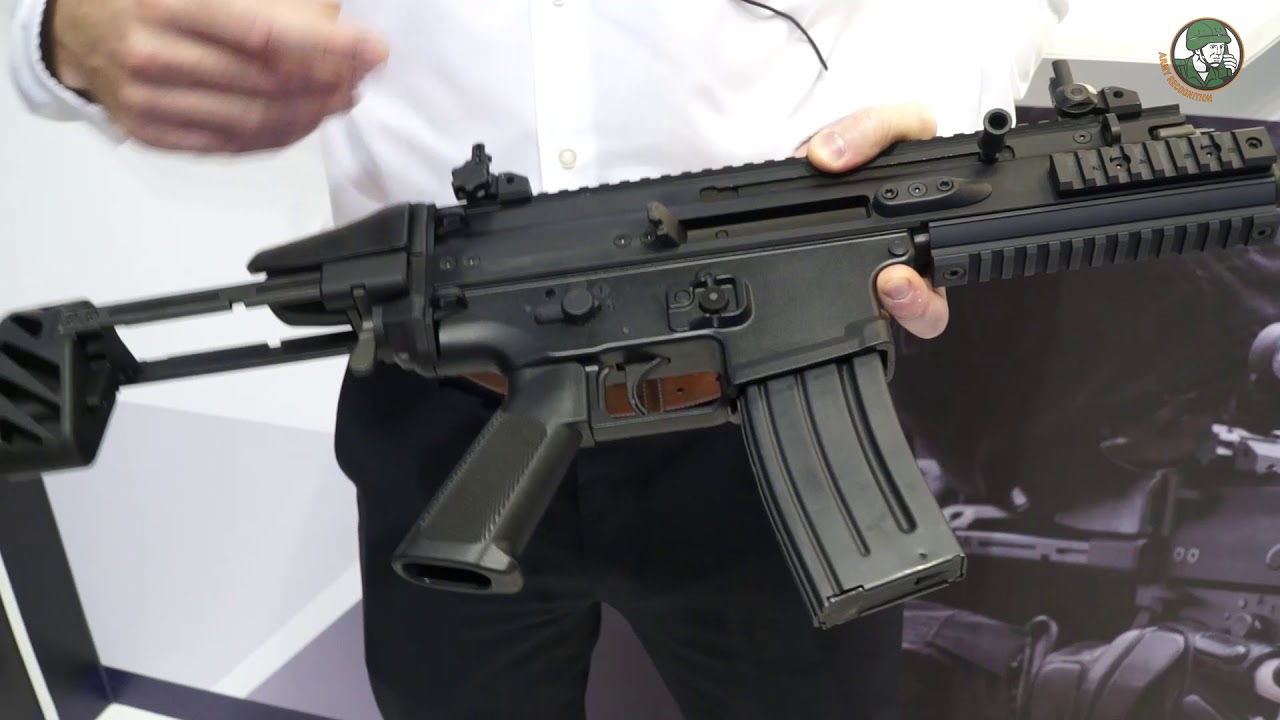 SCAR-SC review Subcompact Carbine FN Herstal Belgium firearms manufacturer Milipol 2017