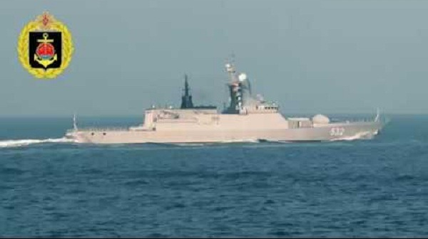 Russian Navy Steregushchiy-class corvettes return home after long ocean voyage