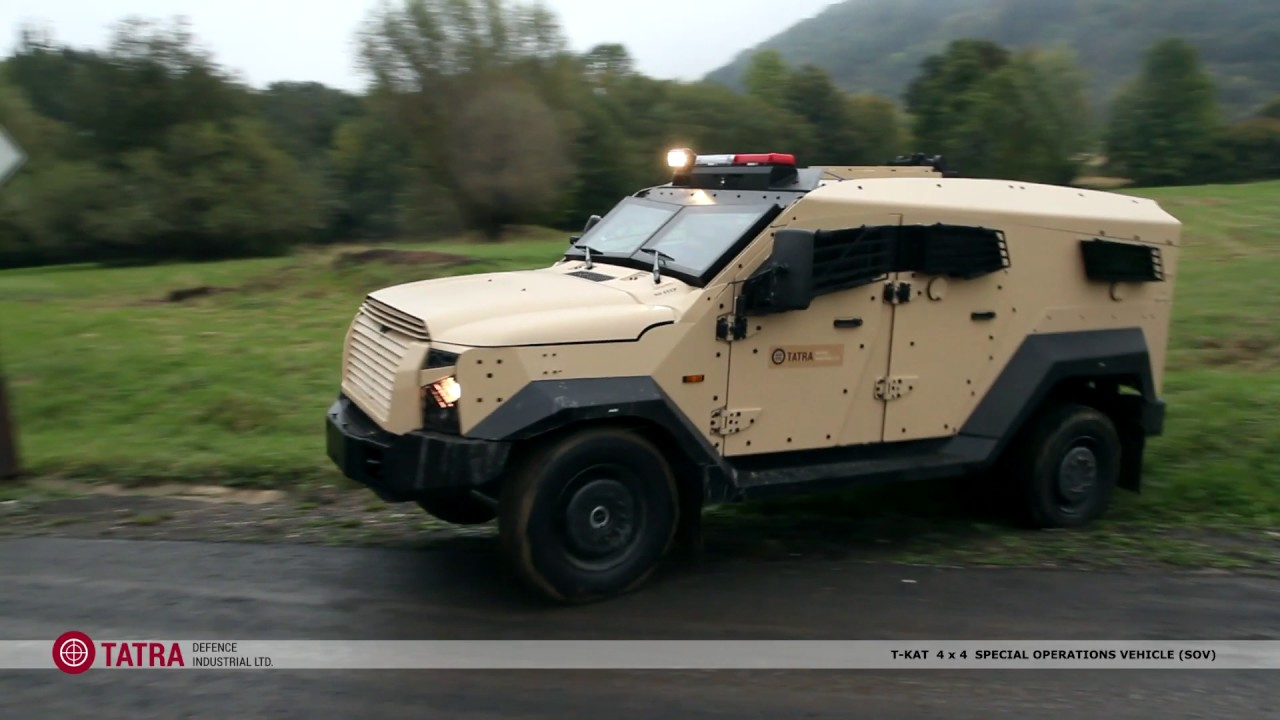 T KAT 4x4 Special Operations Vehicle (SOV)