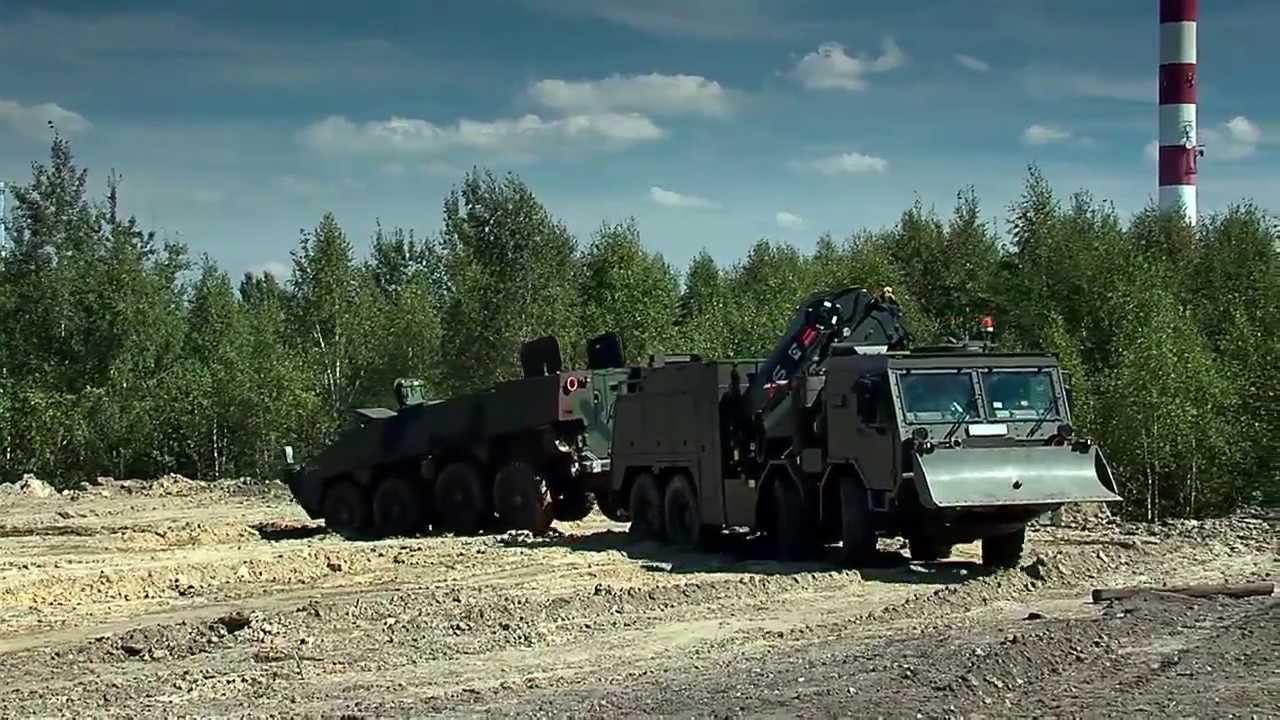 TATRA T815-7 KWZT-1 Mamut Recovery Vehicle