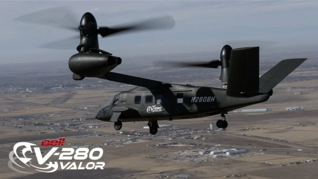 Bell V-280 Valor Reaches 80 Knots