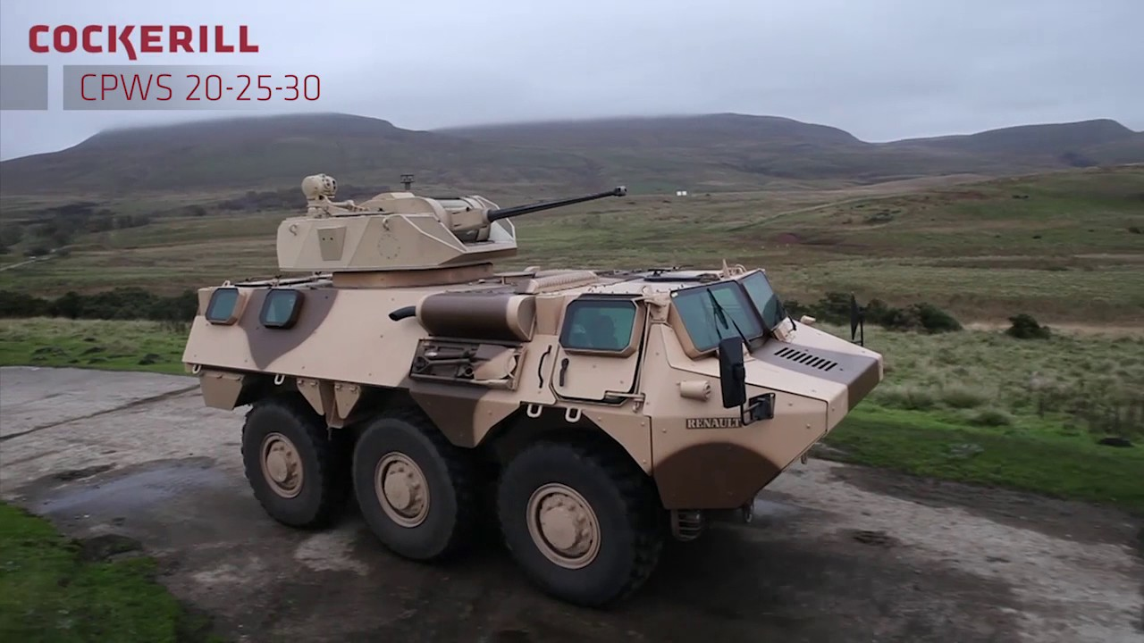CMI Defence - Cockerill CPS (Cockerill Protected Weapon Station)