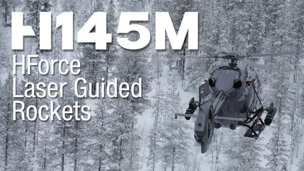 H145M firing campaign in Sweden: 70mm Laser Guided Rockets