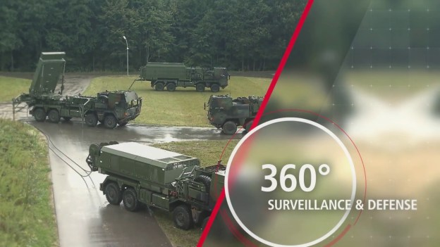 TLVS air and missile defence system