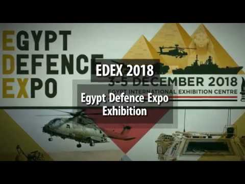 EDEX 2018 Egypt Defence Expo Exhibition Cairo 3 to 5 December teaser