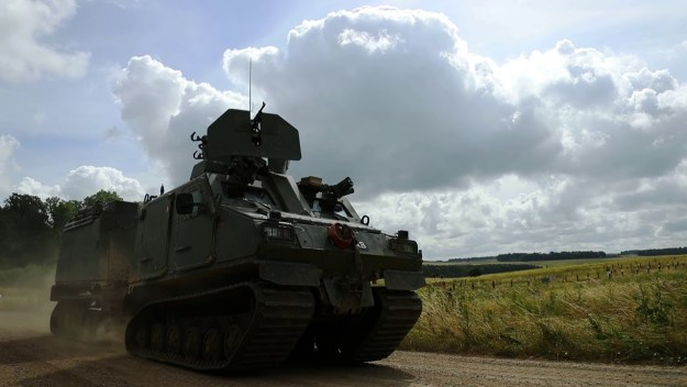 Royal Marines Armoured Support Group