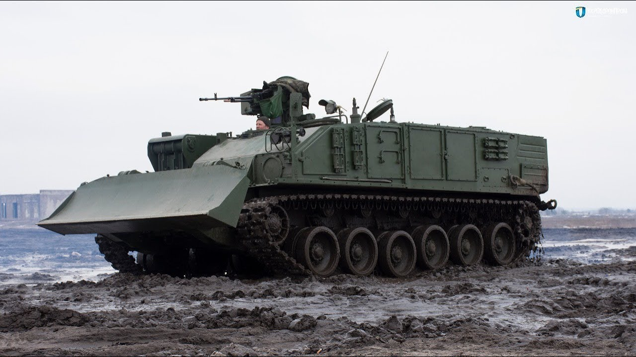 BREM-84 Atlet armored recovery vehicle