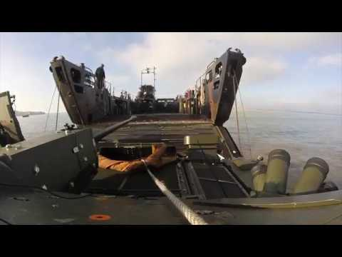 GDLS-UK AJAX Littoral Fording Trials